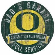 Oregon Ducks Dad's Garage Sign