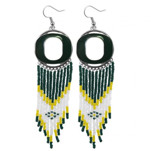 Oregon Ducks Dreamcatcher Earrings