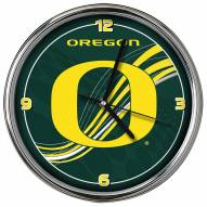 Oregon Ducks Dynamic Chrome Clock
