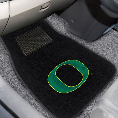 Oregon Ducks Embroidered Car Mats