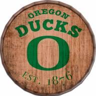 """Oregon Ducks Established Date 24"""" Barrel Top"""