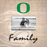 Oregon Ducks Family Picture Frame