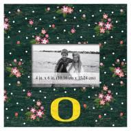 "Oregon Ducks Floral 10"" x 10"" Picture Frame"