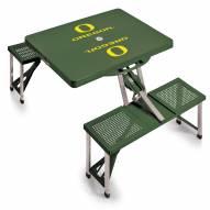 Oregon Ducks Folding Picnic Table