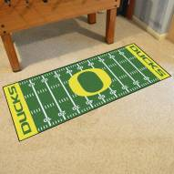 Oregon Ducks Football Field Runner Rug