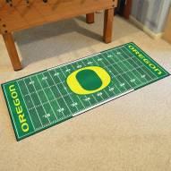 Oregon Ducks Football Field Runner Rug
