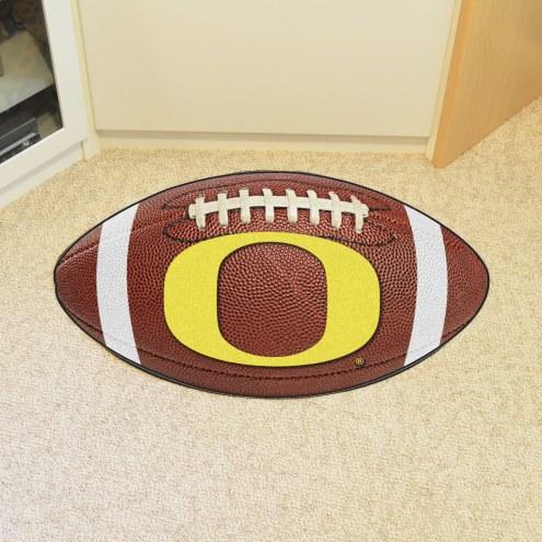 Oregon Ducks Football Floor Mat