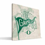 Oregon Ducks Gameday Vibes Canvas Print