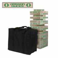 Oregon Ducks Giant Wooden Tumble Tower Game