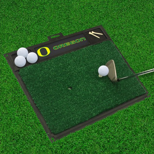 Oregon Ducks Golf Hitting Mat