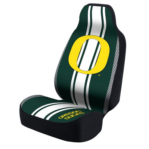 Oregon Ducks Green Universal Bucket Car Seat Cover