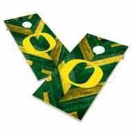 Oregon Ducks Herringbone Cornhole Game Set