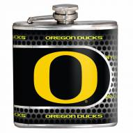 Oregon Ducks Hi-Def Stainless Steel Flask