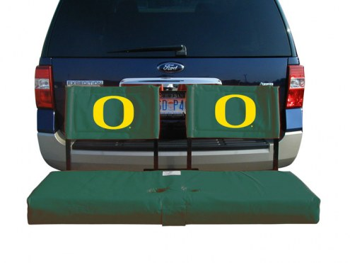 Oregon Ducks Tailgate Hitch Seat/Cargo Carrier