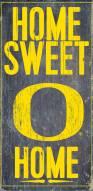 Oregon Ducks Home Sweet Home Wood Sign