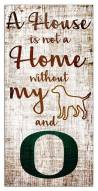 Oregon Ducks House is Not a Home Sign