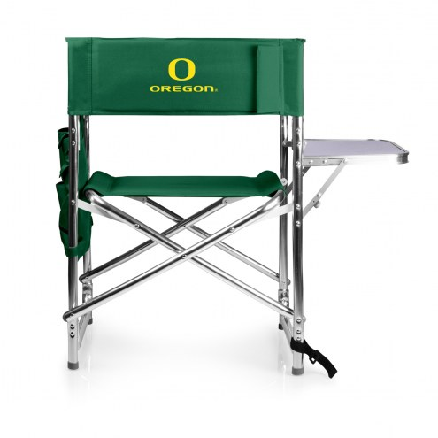 Oregon Ducks Hunter Green Sports Folding Chair