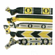 Oregon Ducks Knotted Hair Tie