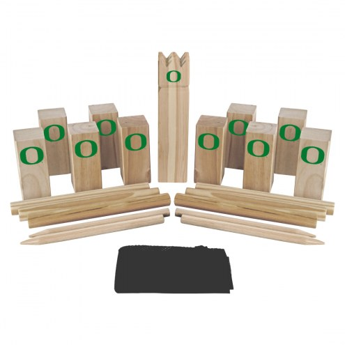 Oregon Ducks Kubb Viking Chess