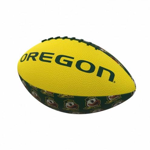 Oregon Ducks Mini Rubber Football