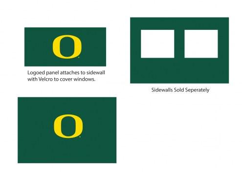 Oregon Ducks Logo Canopy Sidewall Panel (Attaches to Window Sidewall)