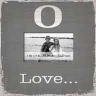 Oregon Ducks Love Picture Frame