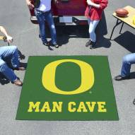 Oregon Ducks Man Cave Tailgate Mat