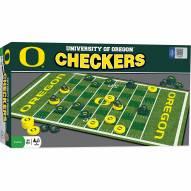 Oregon Ducks Checkers