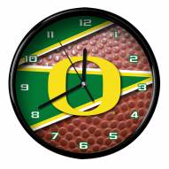 Oregon Ducks Football Clock
