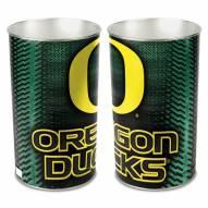 Oregon Ducks Metal Wastebasket