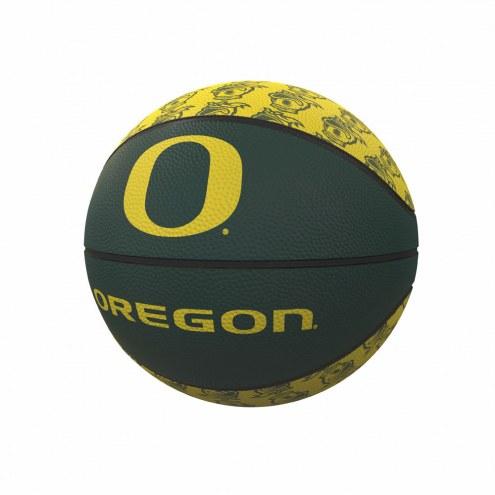Oregon Ducks Mini Rubber Basketball