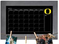 Oregon Ducks Monthly Chalkboard with Frame