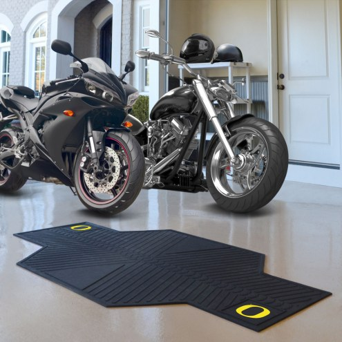 Oregon Ducks Motorcycle Mat