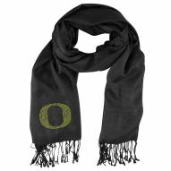 Oregon Ducks Black Pashi Fan Scarf