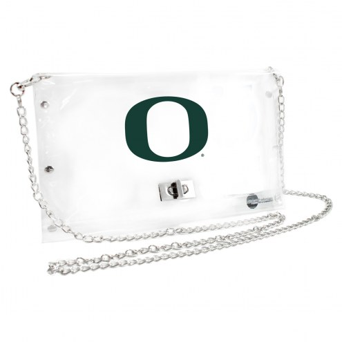 Oregon Ducks NCAA Clear Envelope Purse