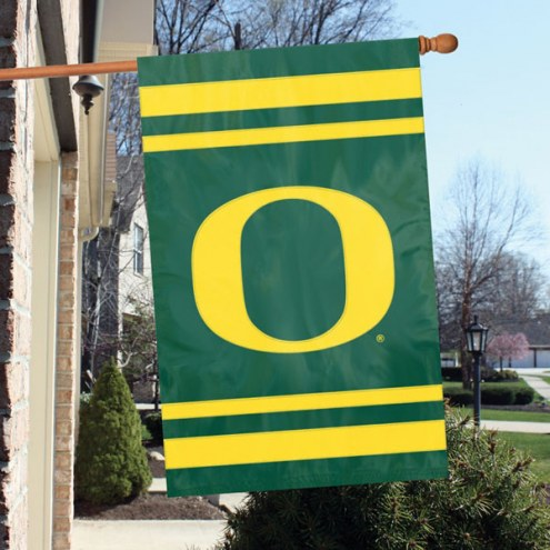 Oregon Ducks NCAA Embroidered / Applique College Flag Banner