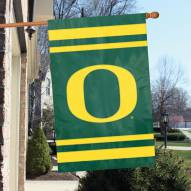 Oregon Ducks NCAA Applique 2-Sided Banner Flag