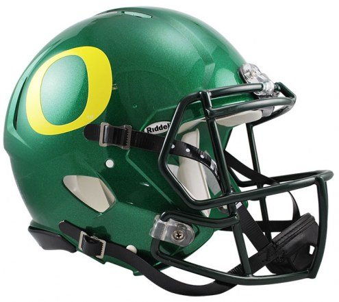 Oregon Ducks NCAA Riddell Speed Full Size Authentic Football Helmet