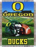 Oregon Ducks NCAA Woven Tapestry Throw / Blanket