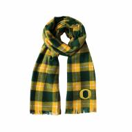 Oregon Ducks Plaid Blanket Scarf