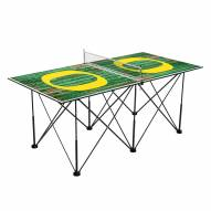 Oregon Ducks Pop Up 6' Ping Pong Table