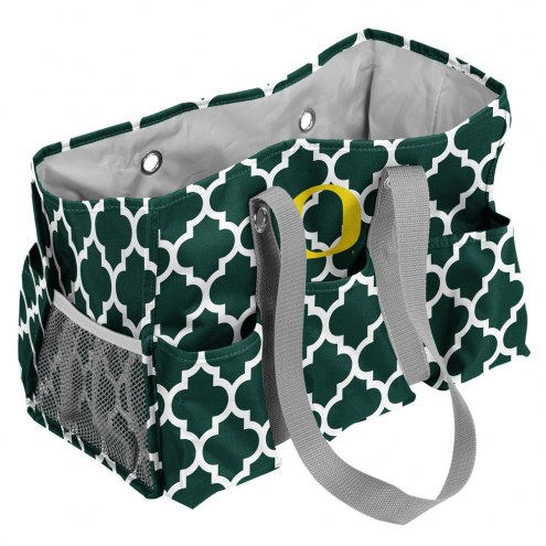 Oregon Ducks Quatrefoil Weekend Bag