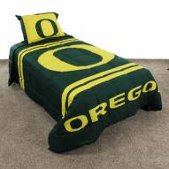 Oregon Ducks Reversible Comforter Set