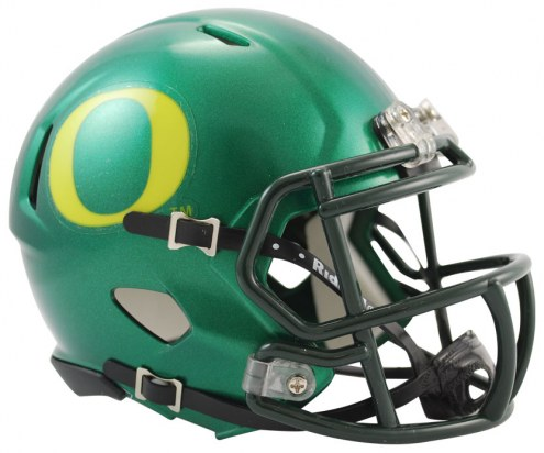 Oregon Ducks Riddell Speed Mini Collectible Football Helmet