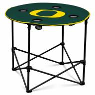 Oregon Ducks Round Folding Table