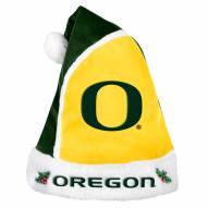Oregon Ducks Santa Hat