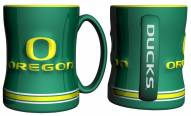 Oregon Ducks Sculpted Relief Coffee Mug