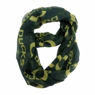 Oregon Ducks Sheer Infinity Scarf