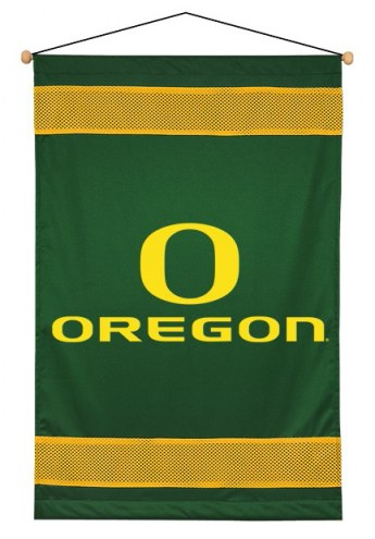 Oregon Ducks Sidelines Wall Hanging