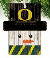 Oregon Ducks Snowman Ornament